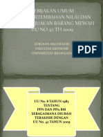Kebijakan Umum PPN&PPnBM Pertemuan XII