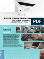 Politik Hukum E-Commerce