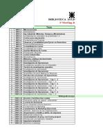 Listado de Libros de Industrial