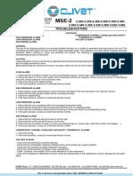Поиск и Устранение Неисправностей CLIVET MSE-2.pdf