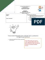 Guía Formulas Area y Perimetro