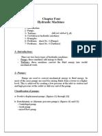 Fluid Mechanics II (Chapter 4)