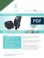 product datasheet usb registration units