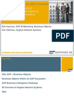 Business Objects- The New Face of Business Intelligence for SAP Customers