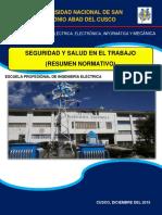 Seguridad y Salud en El Trabajo (Resumen Normativo)