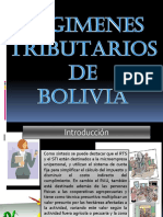 Regimenes Tributarios de Bolivia