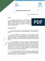 Plan Estrategico 2013-2016 Eap. Derecho y Ciencia Politica