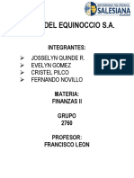 Proyecto Rosas Del Equinoccio s.A