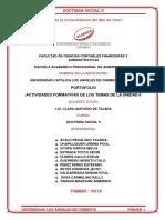 Portafolio Actividades Formativas de Los Temas de La Unidad II