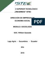 Modulo de Sociologia 2016