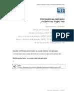 Informações Da Aplicação Pump Genius Multipump V1_05 P CFW500
