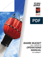 2013 Bambi Bucket Operations Manual VG
