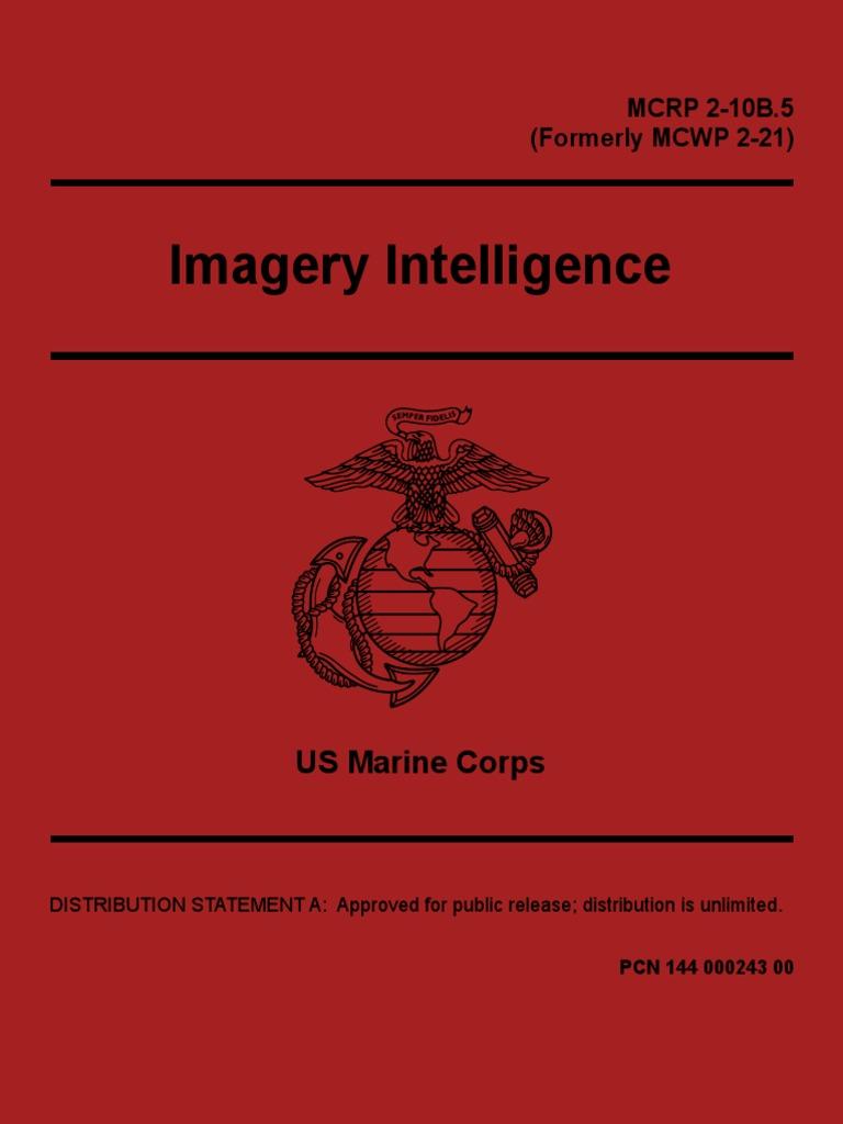 IMINT USMC pdf   Military Intelligence   Marine Air Ground