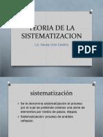Teoria de La Sistematizacion (1)