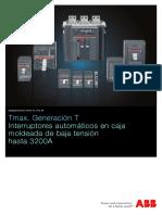 Catálogo Tmax T1 ABB Caja Moldeada