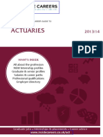 The Only Graduate Career Guide to Actuaries