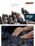 El Confort de los asientos