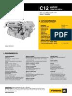 Motores de Propulsion Marinos Mm c12 385 Bhp