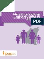 Protocolo de Atención a Víctimas de Violencia Sexual