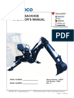 485 Backhoe Operators Manual