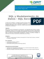SQL y Modelamiento de Datos -SQL Server 2012