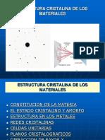 Clase 3 11-04-17I Estructura Cristalina
