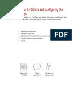 FortiGate Registration and Basic Settings