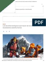 Los Secretos Biológicos Que Hacen de Los Sherpas Escaladores Sobrehumanos _ CNNEspañol