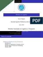 Modelos en Logística