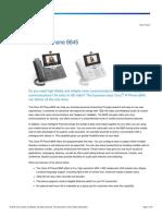 Cisco IP Phone 8845 Data Sheet