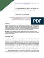 Metodo de estimacion de Na2O y K2O en Minerales