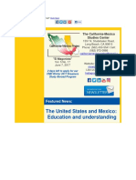 CALIFORNIA-MEXICO STUDIES CENTER, INC,  - The U.S. and Mexico Education and understanding.pdf