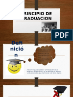 Principio de Graduacion