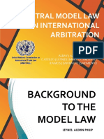 Update 2 Unictral Model Law on International Arbitration