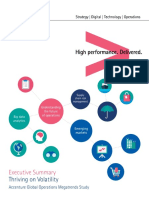 Resumen Estudio Megatendencias en Las Operaciones Globales de Accenture