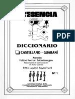 Diccionario Español Guarani Bolivia
