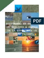 Asignacion de Ecoturismo en Panamá
