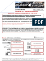 Jeep YJ/CJ MetalCloak Rocker Rail Installation Instructions