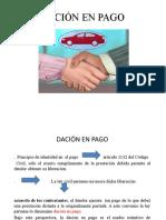 Exposicion Civil Dacion Pago Nilton