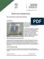 Mezzanine Floors Baseplate Design
