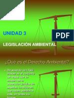 Unidad Nº 3 Legislación Ambiental en Venezuela