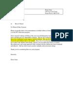 letter of recommendation mrs jones