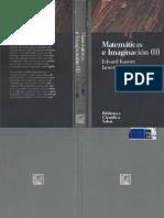 Matematicas e Imaginacion 2 E Kasner Et Al Biblioteca Cientifica Salvat 049 1994 OCR