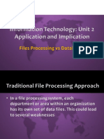ITU2 1.4 File Processing vs Database 2016.09.27