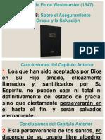 Cap-18. Sobre El Aseguramiento de La Gracia y La Salvación