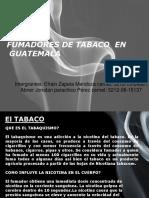 Tabaquismo en Guatemala