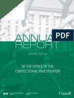 Muerte Bajo Custodia Reporte 2013 - 2014