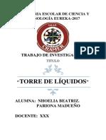 TRABAJO DE CAEN