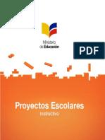 INSTRUCTIVO-PROYECTOS ESCOLARES