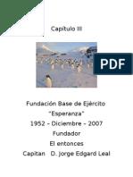 Capítulo III - Fundación Base Esperanza - 1